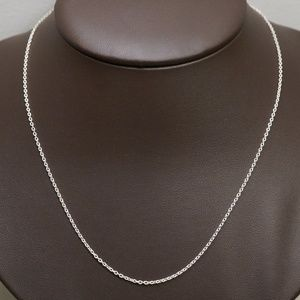 "Sterling Silver (.925) 20"" Correna Link Chain"